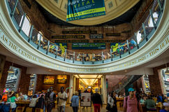 Quincy Market in Boston Royalty Free Stock Photos