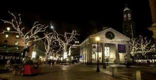 Quincy Market, Boston, MA Stock Photography