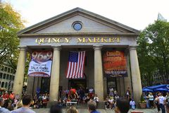 Quincy Market Boston Royalty Free Stock Images