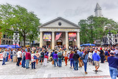 Quincy Market - Boston Stock Images