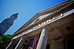Quincy market, boston, usa Royalty Free Stock Photo