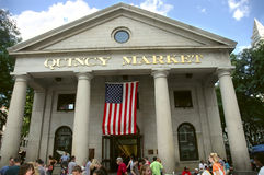 Quincy market building Royalty Free Stock Images