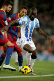 Quincy Owusu-Abeyie of Malaga CF Stock Photo