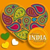 quindicesimo di August India Independence Day Fotografia Stock Libera da Diritti