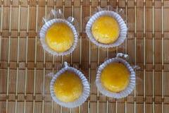 Quindim (бразильская конфета) Стоковые Изображения