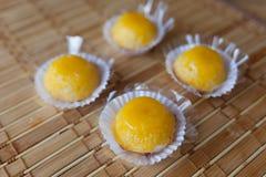 Quindim (sucrerie brésilienne) Photo stock
