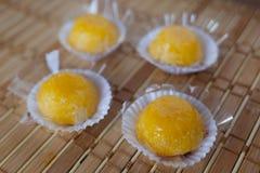 Quindim (sucrerie brésilienne) Photographie stock libre de droits