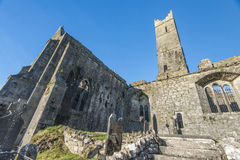 Quinn abbey ruins Royalty Free Stock Photo