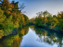 Quinnipiac flod Arkivfoton