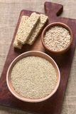 quinoa ακατέργαστο Στοκ εικόνες με δικαίωμα ελεύθερης χρήσης