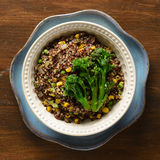 Quinoa κύπελλο 2 Στοκ Φωτογραφίες