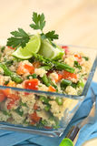 Quinoa με τα λαχανικά Στοκ εικόνα με δικαίωμα ελεύθερης χρήσης