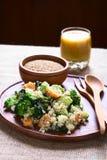 Quinoa με τα λαχανικά Στοκ Φωτογραφία