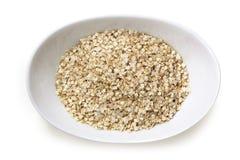 Quinoa νιφάδες στοκ φωτογραφία