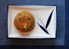 Quinoa σαλάτα με τα λαχανικά Στοκ Φωτογραφίες