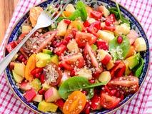 Quinoa σαλάτα στοκ εικόνα