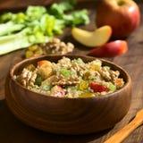 Quinoa σαλάτα Waldorf Στοκ Εικόνες