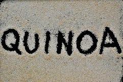 Quinoa υποβάθρου Στοκ Εικόνες