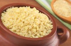 quinoa сваренный шаром деревенский Стоковые Фотографии RF