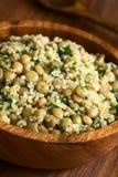 Quinoa, φακών και μαϊντανού σαλάτα Στοκ Φωτογραφίες