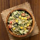 Quinoa και φυτική σαλάτα Στοκ φωτογραφίες με δικαίωμα ελεύθερης χρήσης