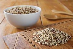 Quinoa and Amaranth royalty free stock photo