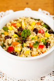 Quinoa and Black Bean Salad Royalty Free Stock Photos