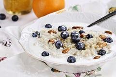 Quinoa Breakfast Stock Photography