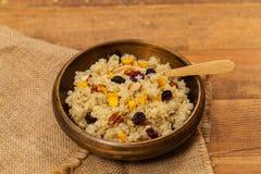 Quinoa-Brei Lizenzfreie Stockfotografie