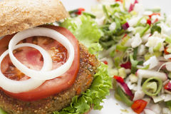 Quinoa Burger Royalty Free Stock Image