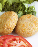 Quinoa and carrot balls. Macrobiotic quinoa and carrot balls Stock Photo