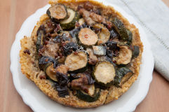 Quinoa Crust Quiche Stock Images
