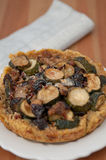 Quinoa Crust Quiche Royalty Free Stock Images