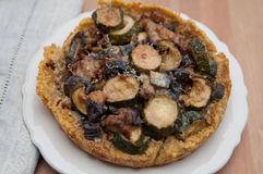 Quinoa Crust Quiche Royalty Free Stock Image