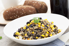 Quinoa Dinner Royalty Free Stock Photography