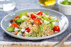 Quinoa with Feta and Rocket salad Stock Images