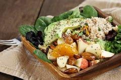 Quinoa and Fruit Salad Stock Photos