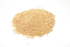 Quinoa grains pile isolated Stock Images