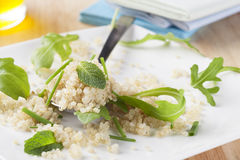 Quinoa with Herbs Stock Photography