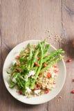 Quinoa i asparagusa sałatka Obrazy Stock