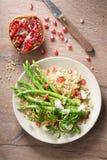 Quinoa i asparagusa sałatka Obraz Stock
