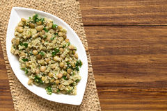 Quinoa, Lentil and Parsley Salad Stock Images
