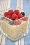Quinoa Milk Rice Pudding Stock Photo