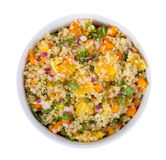 Quinoa orange and cilantro salad Stock Images