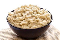 Quinoa orgánica cocinada Imagen de archivo libre de regalías