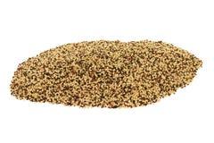 Quinoa organique de tri couleur de pile Photographie stock libre de droits