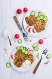 Quinoa patties Stock Images