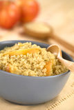 Quinoa Porridge with Apple Royalty Free Stock Images