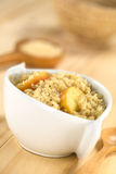 Quinoa Porridge with Apple Royalty Free Stock Photography