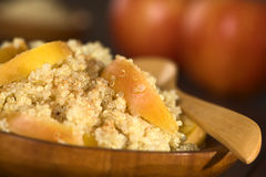 Quinoa Porridge with Apple Royalty Free Stock Photos